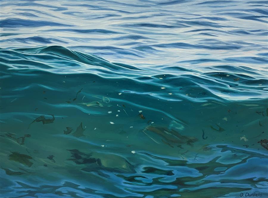 Original art for sale at UGallery.com | Awake by Debbie Daniels | $925 | oil painting | 12' h x 16' w | ..\art\oil-painting-Awake