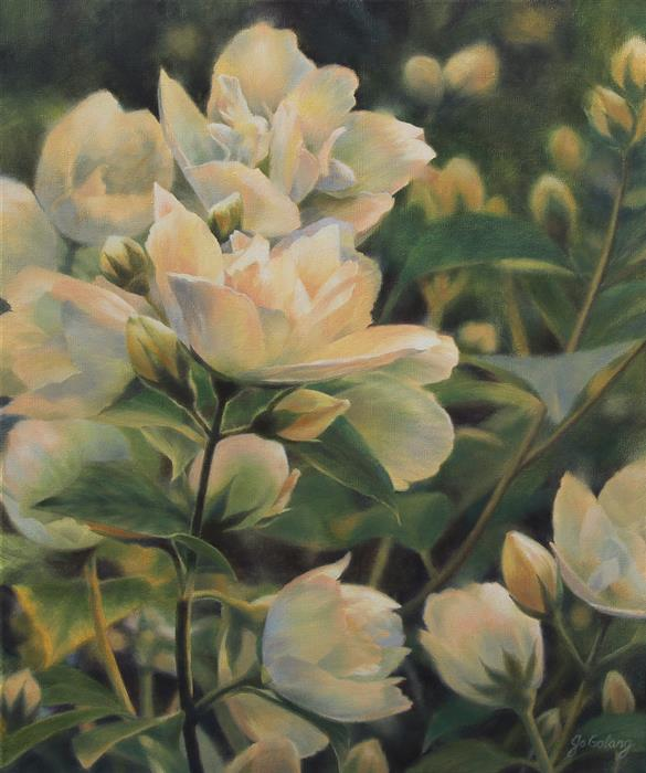 Original art for sale at UGallery.com | Nature's Gift by Jo Galang | $1,100 | oil painting | 24' h x 20' w | ..\art\oil-painting-Nature-s-Gift-70388