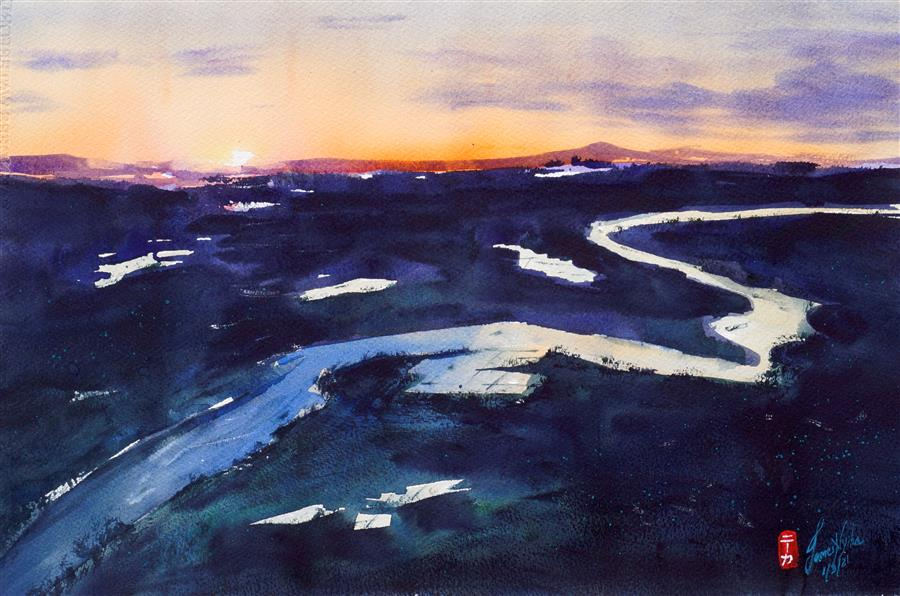 https://www.ugallery.com/webdata/Product/70504/Images/Large_james-nyika-watercolor-painting-approaching-the-delta.jpg
