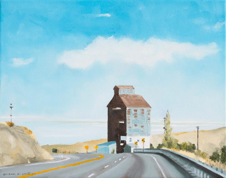 Original art for sale at UGallery.com | Hwy 262 by Susan Walker | $460 | oil painting | 11' h x 14' w | ..\art\oil-painting-Hwy-262