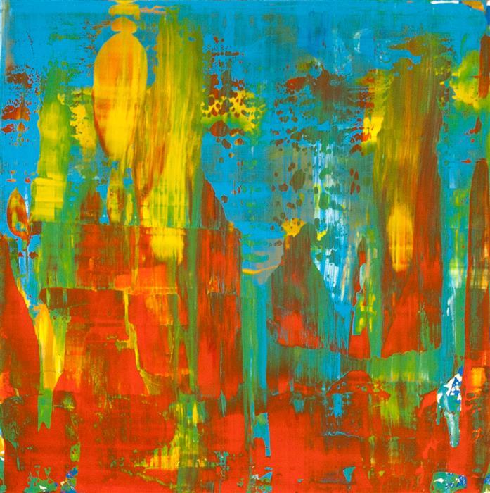 Original art for sale at UGallery.com | Certain Oblivion by Juan Gabriel Peréz Botero aka JUGA | $900 | acrylic painting | 23.62' h x 23.62' w | ..\art\acrylic-painting-Certain-Oblivion