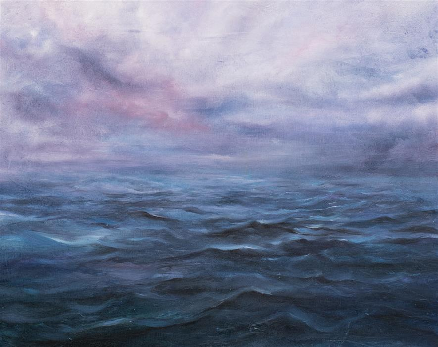 Original art for sale at UGallery.com   Hopeful by Mitch Davis-Mann   $1,425   oil painting   16' h x 20' w   ..\art\oil-painting-Hopeful-70807
