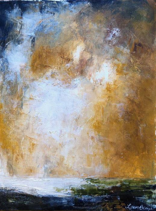 Original art for sale at UGallery.com   Gilded by Tiffany Blaise   $475   mixed media artwork   16' h x 12' w   ..\art\mixed-media-artwork-Gilded