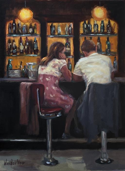Original art for sale at UGallery.com | I Should Have Told You by Faye Vander Veer | $1,050 | oil painting | 12' h x 9' w | ..\art\oil-painting-I-Should-Have-Told-You