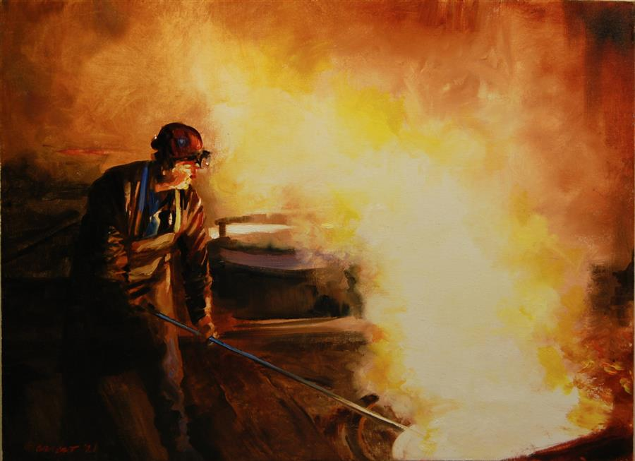 https://www.ugallery.com/webdata/Product/71068/Images/Large_onelio-marrero-oil-painting-skimming-slag.jpg