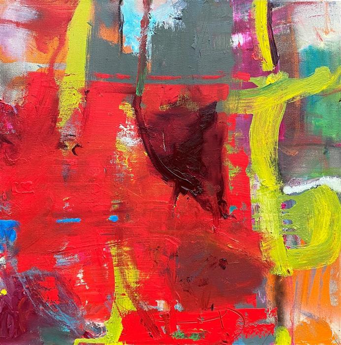 Original art for sale at UGallery.com | Ardor by Scott Hunter | $950 | oil painting | 20' h x 20' w | ..\art\oil-painting-Ardor