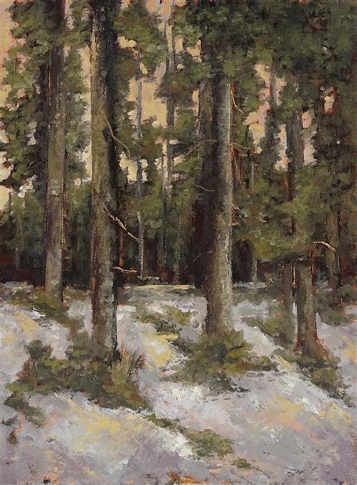 Original art for sale at UGallery.com | Zorns Zeugen by Ingo Ulrich | $575 | oil painting | 15.8' h x 11.8' w | ..\art\oil-painting-Zorns-Zeugen