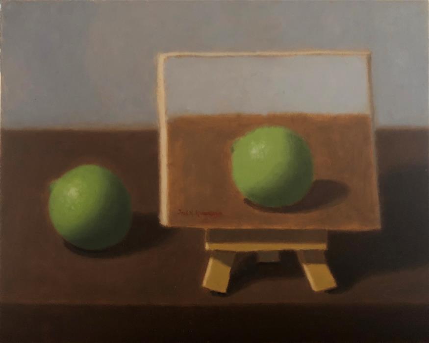 Original art for sale at UGallery.com   Mini Painting 2 by Jose H. Alvarenga   $425   oil painting   8' h x 10' w   ..\art\oil-painting-Mini-Painting-2