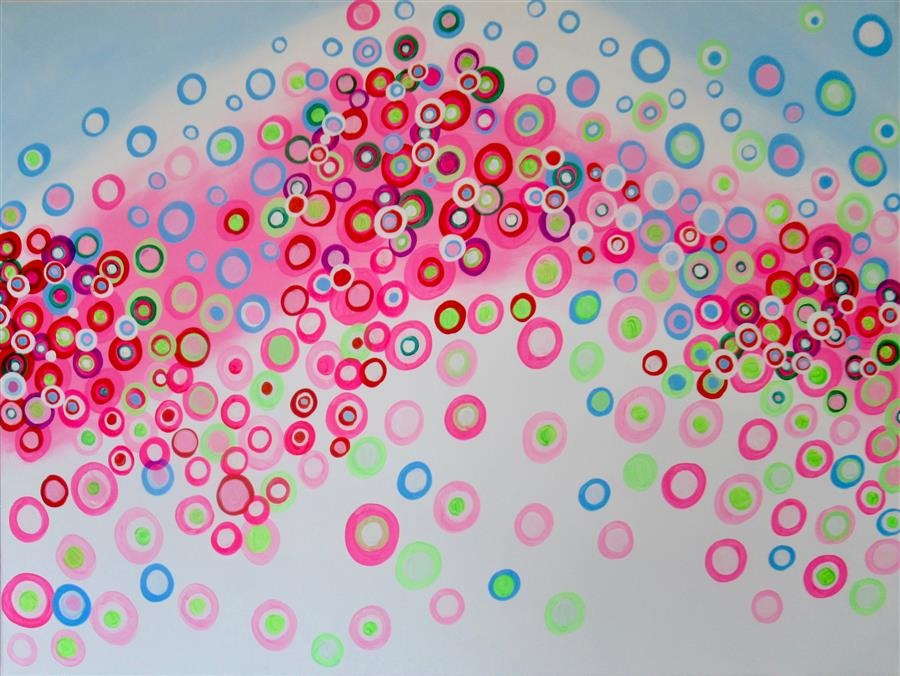 Original art for sale at UGallery.com | Obsession 5 by Natasha Tayles | $1,275 | acrylic painting | 30' h x 40' w | ..\art\acrylic-painting-Obsession-5