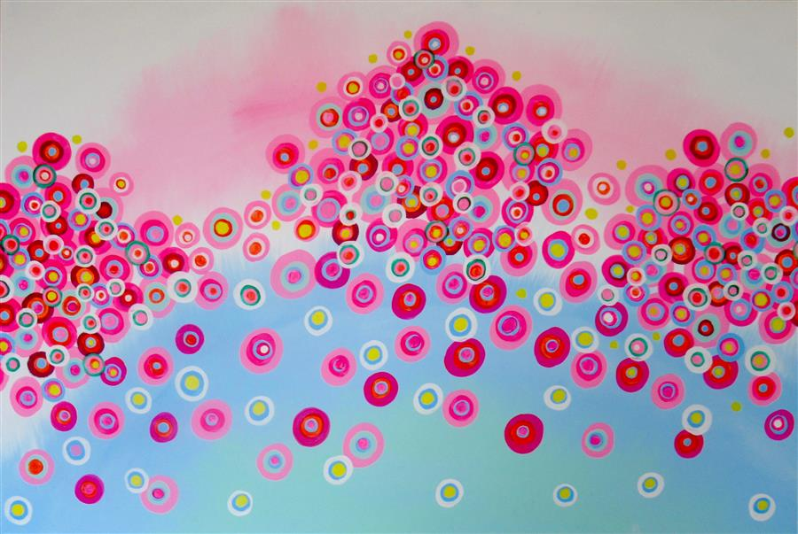 Original art for sale at UGallery.com | Obsession 6 by Natasha Tayles | $800 | acrylic painting | 24' h x 36' w | ..\art\acrylic-painting-Obsession-6