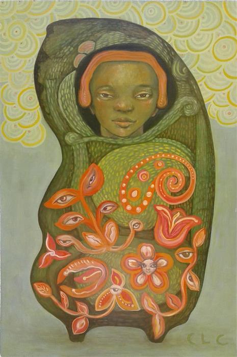 Original art for sale at UGallery.com   Teach Me How to Dance by Cristina Lopez Casas   $700   oil painting   24' h x 16' w   ..\art\oil-painting-Teach-Me-How-to-Dance