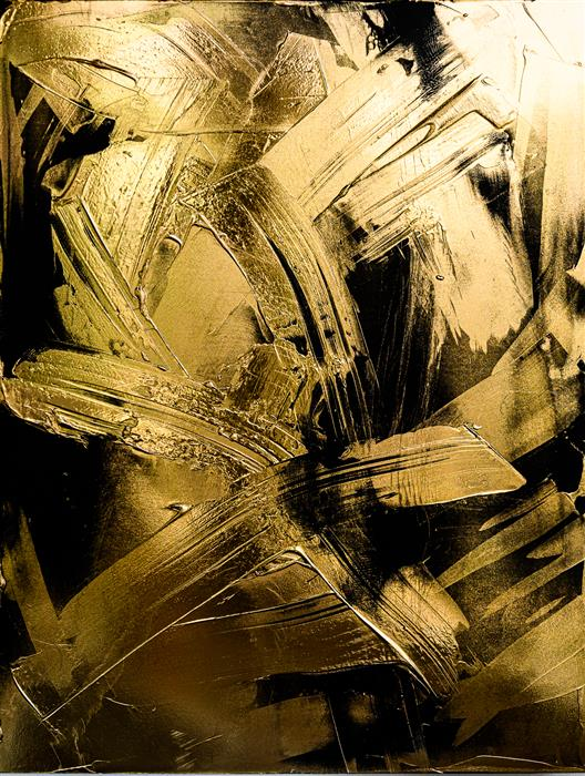 Original art for sale at UGallery.com | Verge by M. Clark | $1,600 | mixed media artwork | 22' h x 17' w | ..\art\mixed-media-artwork-Verge