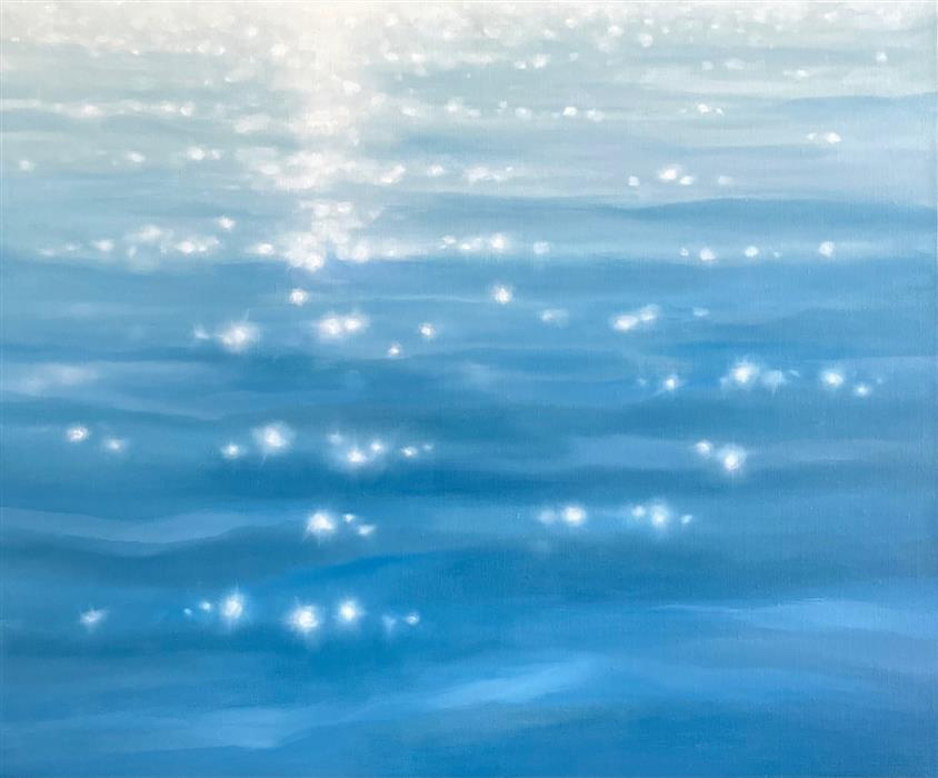Original art for sale at UGallery.com   Aglow by Laura Browning   $1,150   oil painting   18' h x 24' w   ..\art\oil-painting-Aglow