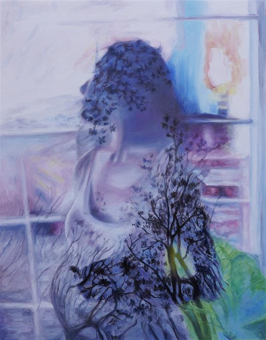 Original art for sale at UGallery.com   Expectant by Kristen Brown   $675   oil painting   14' h x 11' w   ..\art\oil-painting-Expectant