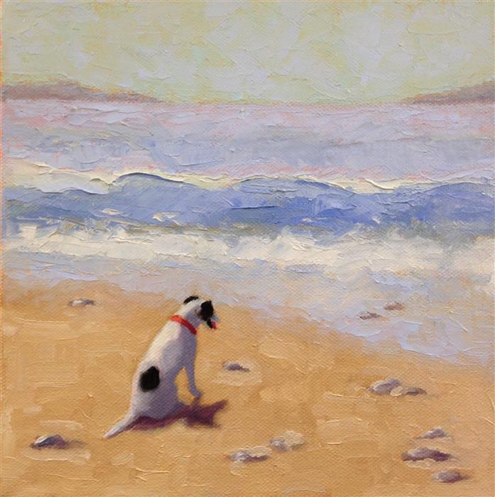 Original art for sale at UGallery.com   Contemplation by Pat Doherty   $450   oil painting   8' h x 8' w   ..\art\oil-painting-Contemplation-71554