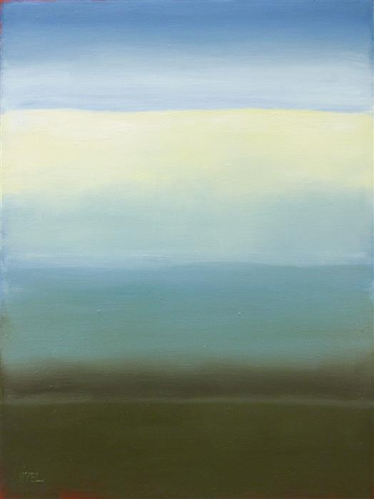 Original art for sale at UGallery.com | Calm Sea by Heidi Hybl | $2,875 | oil painting | 40' h x 30' w | ..\art\oil-painting-Calm-Sea
