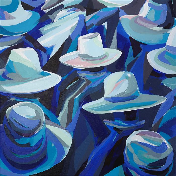 Original art for sale at UGallery.com   Ground Waves by Patrick Duffy   $2,650   acrylic painting   24' h x 24' w   ..\art\acrylic-painting-Ground-Waves