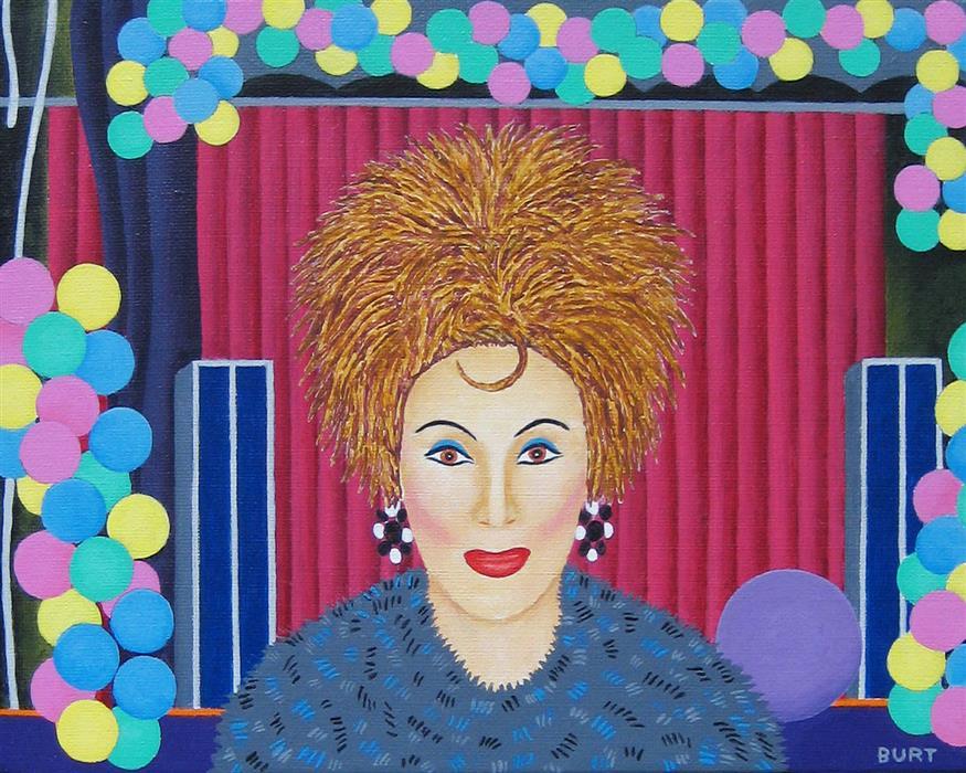 Original art for sale at UGallery.com   Beja at C'est La Vie by Leroy Burt   $375   acrylic painting   8' h x 10' w   ..\art\acrylic-painting-Beja-at-C-est-La-Vie