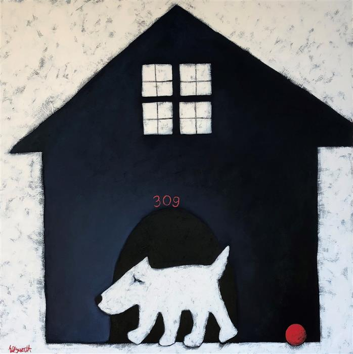 Original art for sale at UGallery.com | #309 by Jaime Ellsworth | $2,250 | mixed media artwork | 36' h x 36' w | ..\art\mixed-media-artwork-309