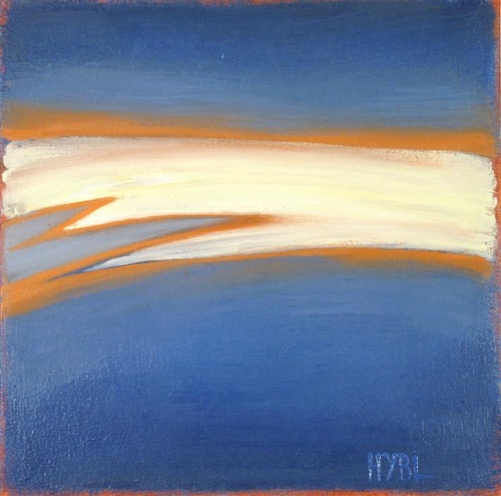 Original art for sale at UGallery.com   Streak by Heidi Hybl   $375   oil painting   12' h x 12' w   ..\art\oil-painting-Streak