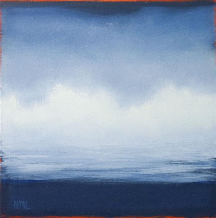 Original art for sale at UGallery.com   White Clouds by Heidi Hybl   $900   oil painting   20' h x 20' w   ..\art\oil-painting-White-Clouds