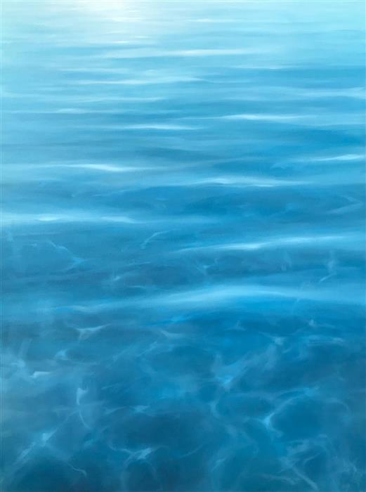 Original art for sale at UGallery.com | Tender Flow by Laura Browning | $3,950 | oil painting | 48' h x 36' w | ..\art\oil-painting-Tender-Flow