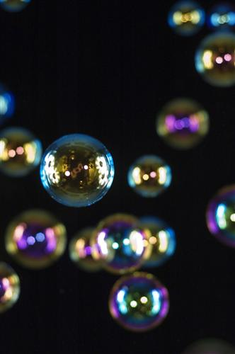 Original art for sale at UGallery.com | Bubbles 7 by MARK ELVERSON | $195 |  | ' h x ' w | \art\photography-Bubbles-7-6037