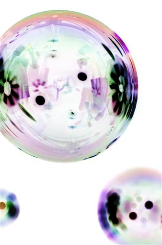 Original art for sale at UGallery.com | Bubbles 9 by MARK ELVERSON | $195 |  | ' h x ' w | \art\photography-Bubbles-9-6040
