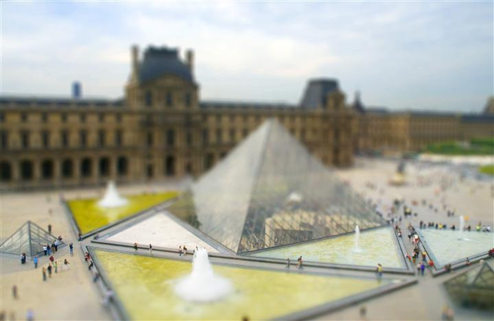 Original art for sale at UGallery.com | Musee Du Louvre, Paris by BRYAN SOLARSKI | $145 |  | ' h x ' w | \art\photography-Musee-Du-Louvre-Paris-208325