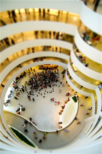 Original art for sale at UGallery.com | The Guggenheim Museum (NYC) by BRYAN SOLARSKI | $145 |  | ' h x ' w | \art\photography-The-Guggenheim-Museum-NYC-208329