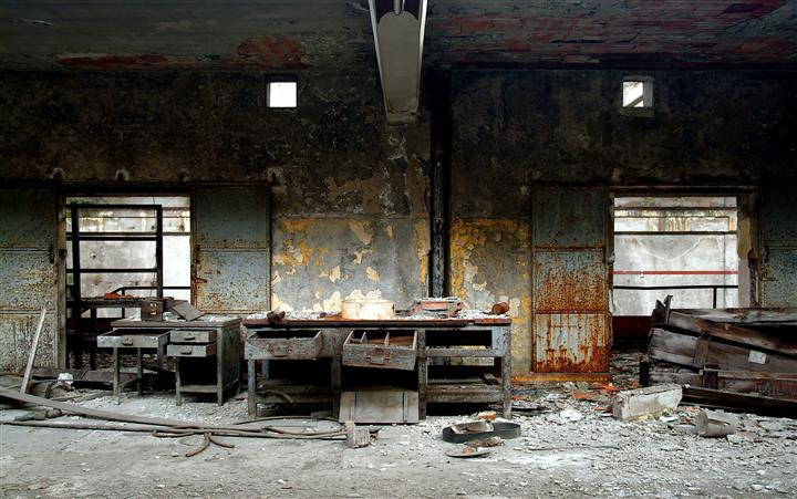 Discover Original Art by Beat Hauser | Abandoned Workplace photography | Art for Sale Online at UGallery