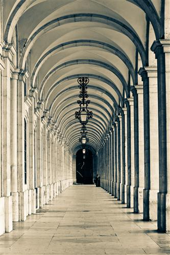Discover Original Art by Rebecca Plotnick | Walking in Lisbon photography | Art for Sale Online at UGallery