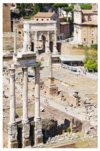 Original art for sale at UGallery.com | The Roman Forum by BRYAN SOLARSKI | $145 |  | ' h x ' w | \art\photography-The-Roman-Forum