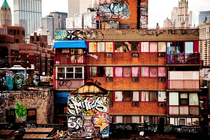 Discover Original Art by Alexandra Henry | Chinatown Graffiti photography | Art for Sale Online at UGallery