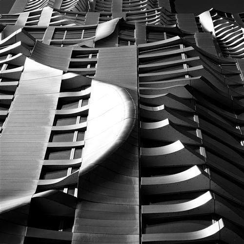 Original art for sale at UGallery.com | New York By Gehry by ADAM GARELICK | $185 |  | ' h x ' w | \art\photography-New-York-By-Gehry