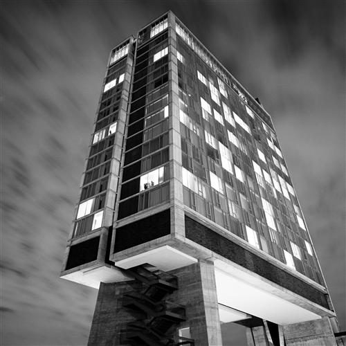 Original art for sale at UGallery.com | The Standard Hotel by ADAM GARELICK | $185 |  | ' h x ' w | \art\photography-The-Standard-Hotel