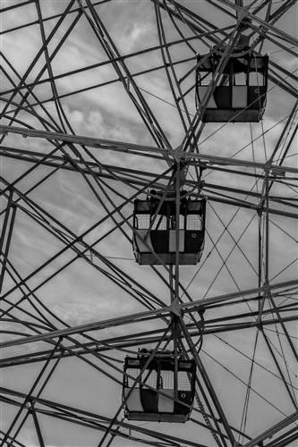 Discover Original Art by Robert Ullmann | Ferris Wheel photography | Art for Sale Online at UGallery