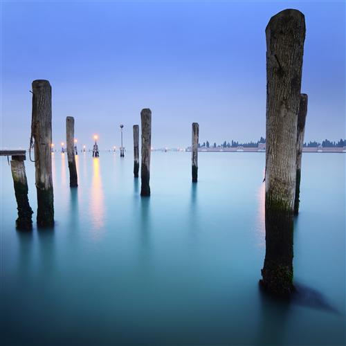 Discover Original Art by Etienne Roudaut | Blue Venetian photography | Art for Sale Online at UGallery