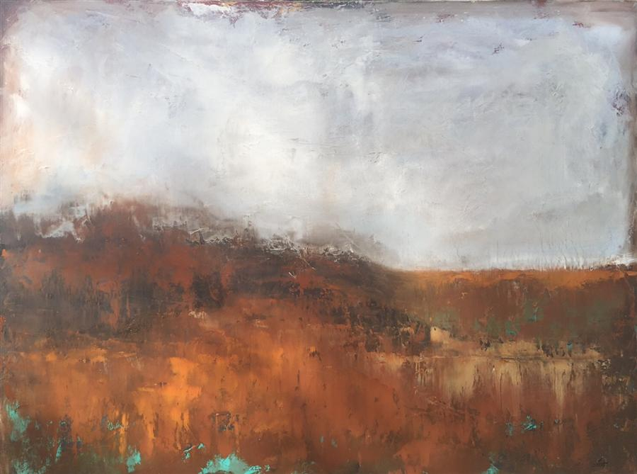 Discover Original Art by Faith Taylor | Landslide oil painting | Art for Sale Online at UGallery
