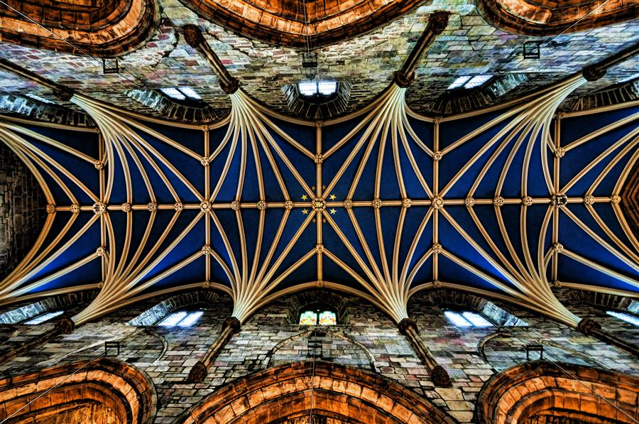 Original art for sale at UGallery.com | The Ceiling by NOELLE VISCONTI | $160 |  | ' h x ' w | \art\photography-The-Ceiling