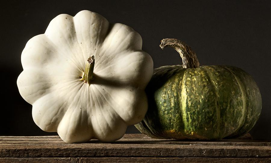 Original art for sale at UGallery.com | Still Life: Winter Squash by JUSTIN WHEELER | $245 |  | ' h x ' w | \art\photography-Still-Life-Winter-Squash