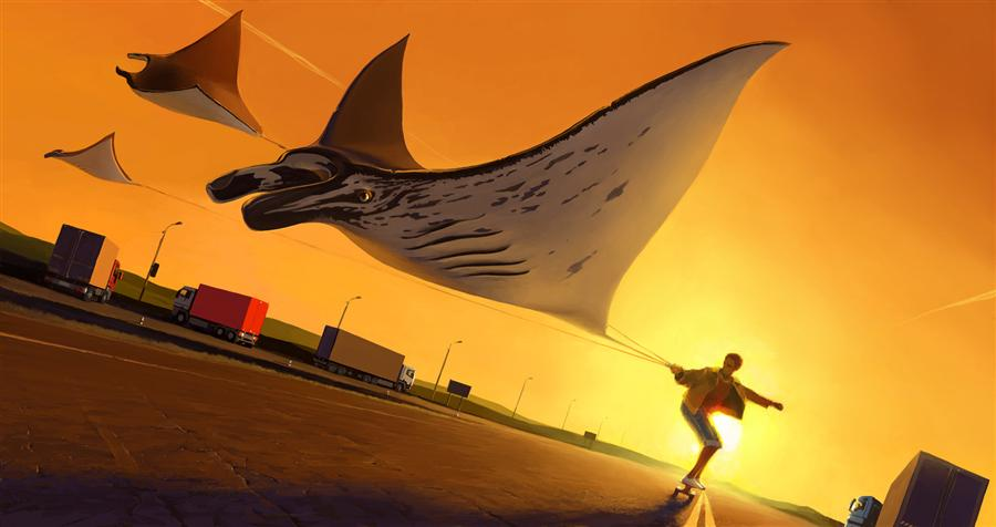 Discover Original Art by Alex Andreev | 26.08 digital printmaking | Art for Sale Online at UGallery