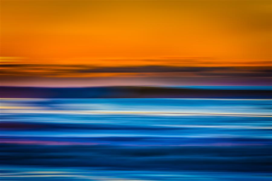 Original art for sale at UGallery.com | Atlantic Ocean Blur by MICHAEL BUSCH | $195 |  | ' h x ' w | \art\photography-Atlantic-Ocean-Blur