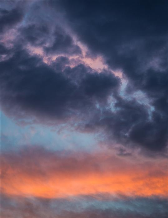 Original art for sale at UGallery.com | Orange Pink and Blue Sky by GRANT TAYLOR | $170 |  | ' h x ' w | \art\photography-Orange-Pink-and-Blue-Sky