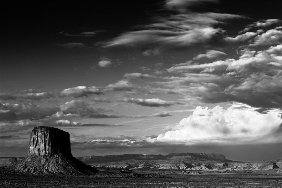 Discover Original Art by Jay Moore | Monument Valley Clearing Storm photography | Art for Sale Online at UGallery