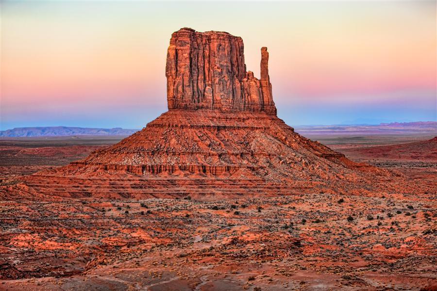 Discover Original Art by Jay Moore | Left Mitten, Monument Valley photography | Art for Sale Online at UGallery