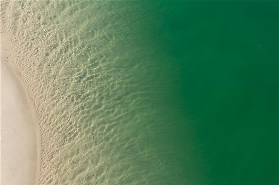 Original art for sale at UGallery.com | Sandbar by KIMBERLY POPPE | $145 |  | ' h x ' w | \art\photography-Sandbar