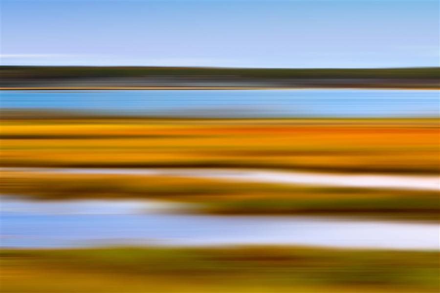Discover Original Art by Katherine Gendreau | Autumn Marsh photography | Art for Sale Online at UGallery