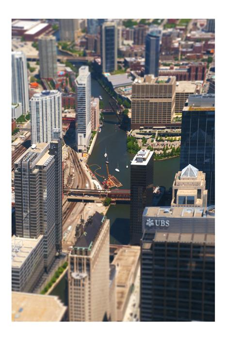 Original art for sale at UGallery.com | Chicago Overview by BRYAN SOLARSKI | $170 |  | ' h x ' w | \art\photography-Chicago-Overview