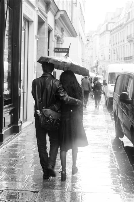 Original art for sale at UGallery.com | Rainy Afternoon in Paris by REBECCA PLOTNICK | $195 |  | ' h x ' w | \art\photography-Rainy-Afternoon-in-Paris